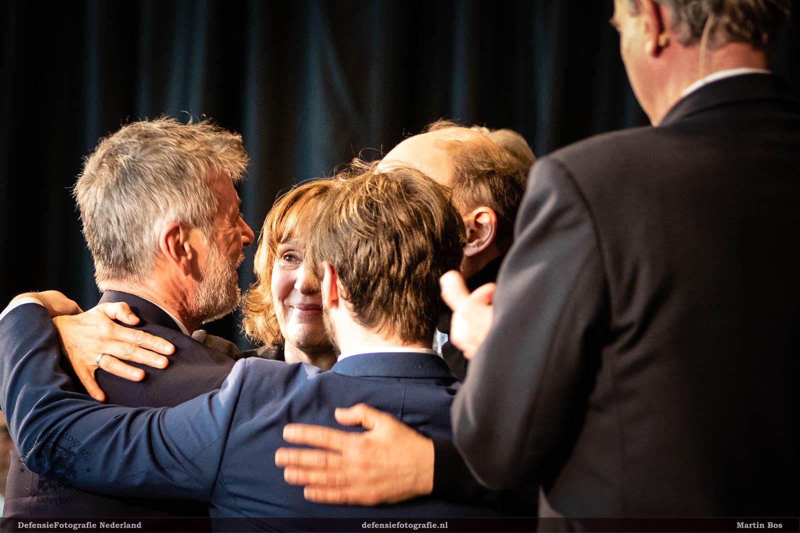 Opening 'Hij of ik', emotie bij de families Major en Kürten
