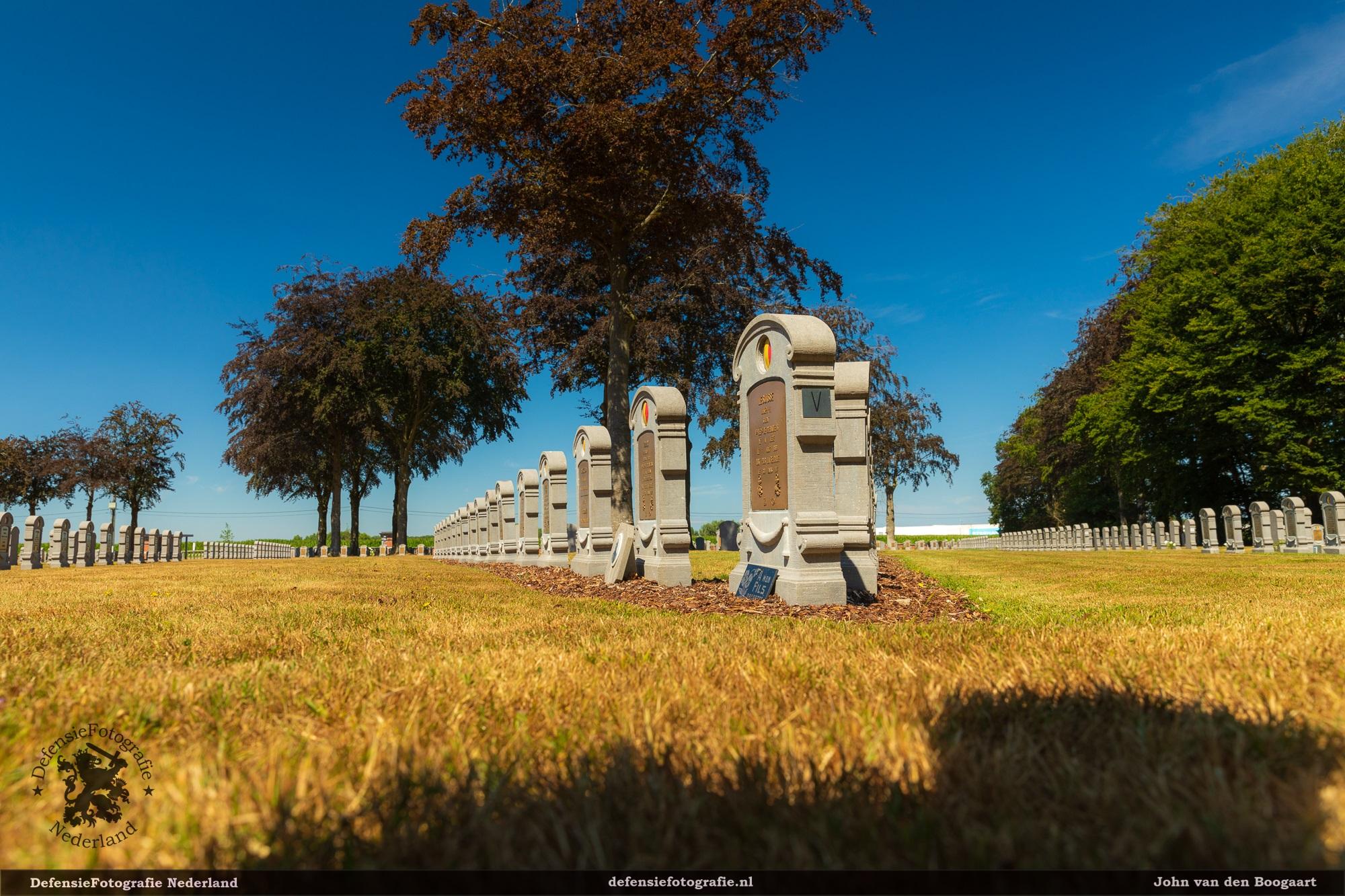 Belgische begraafplaats