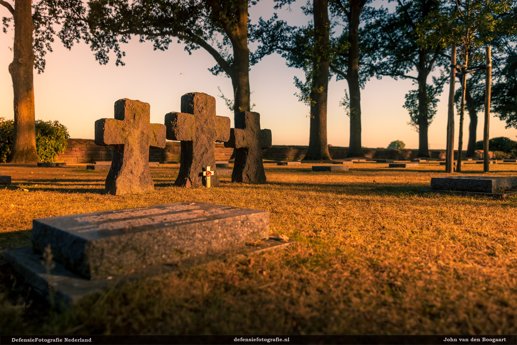 Duitse begraafplaats Langemark-Poelkapelle