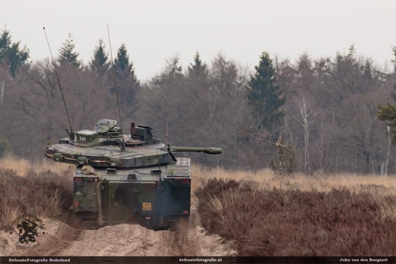 CV90 weer even terug in Oirschot