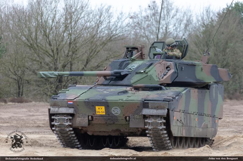 CV9035 zware bepantsering
