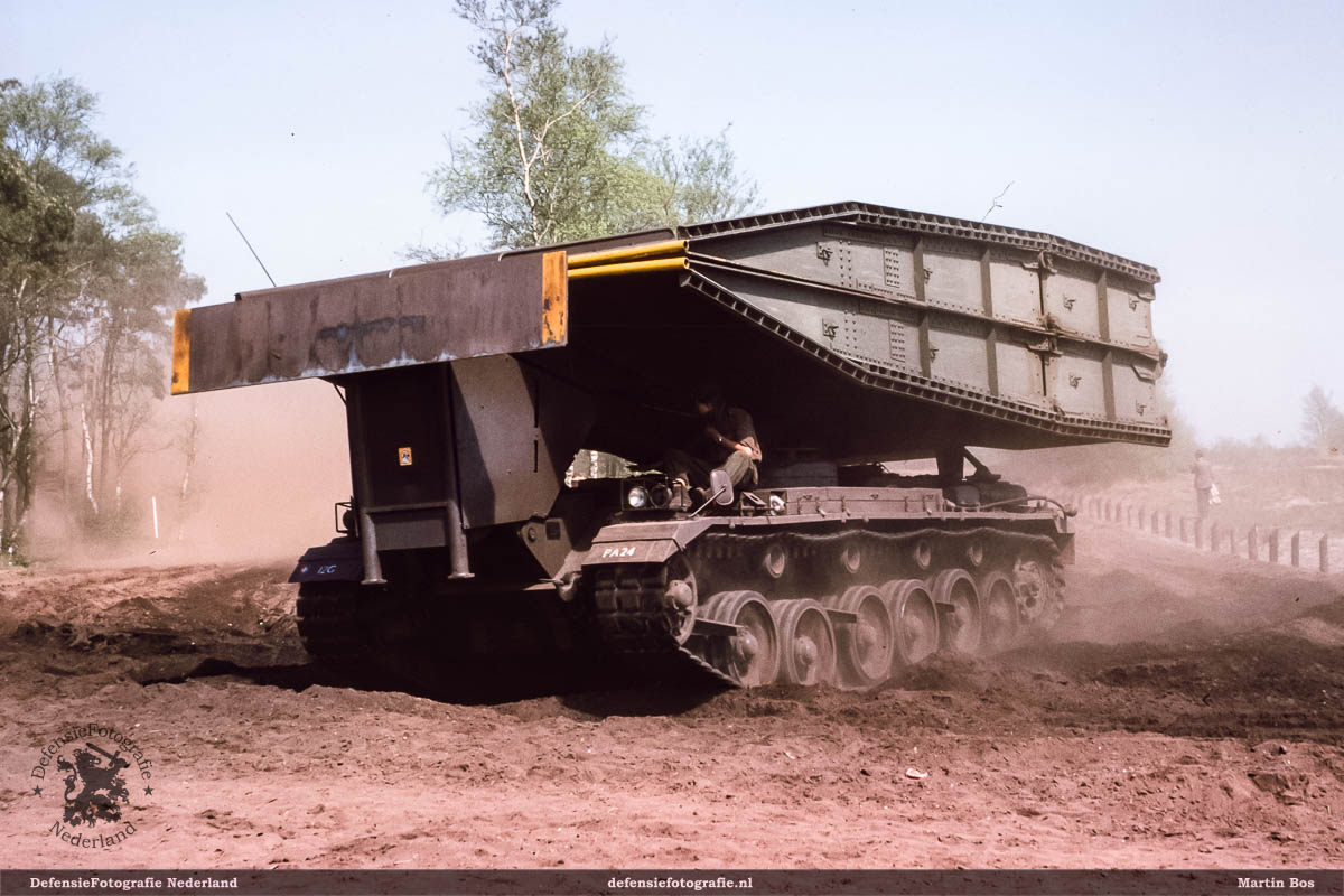 Centurion brugleggende tank