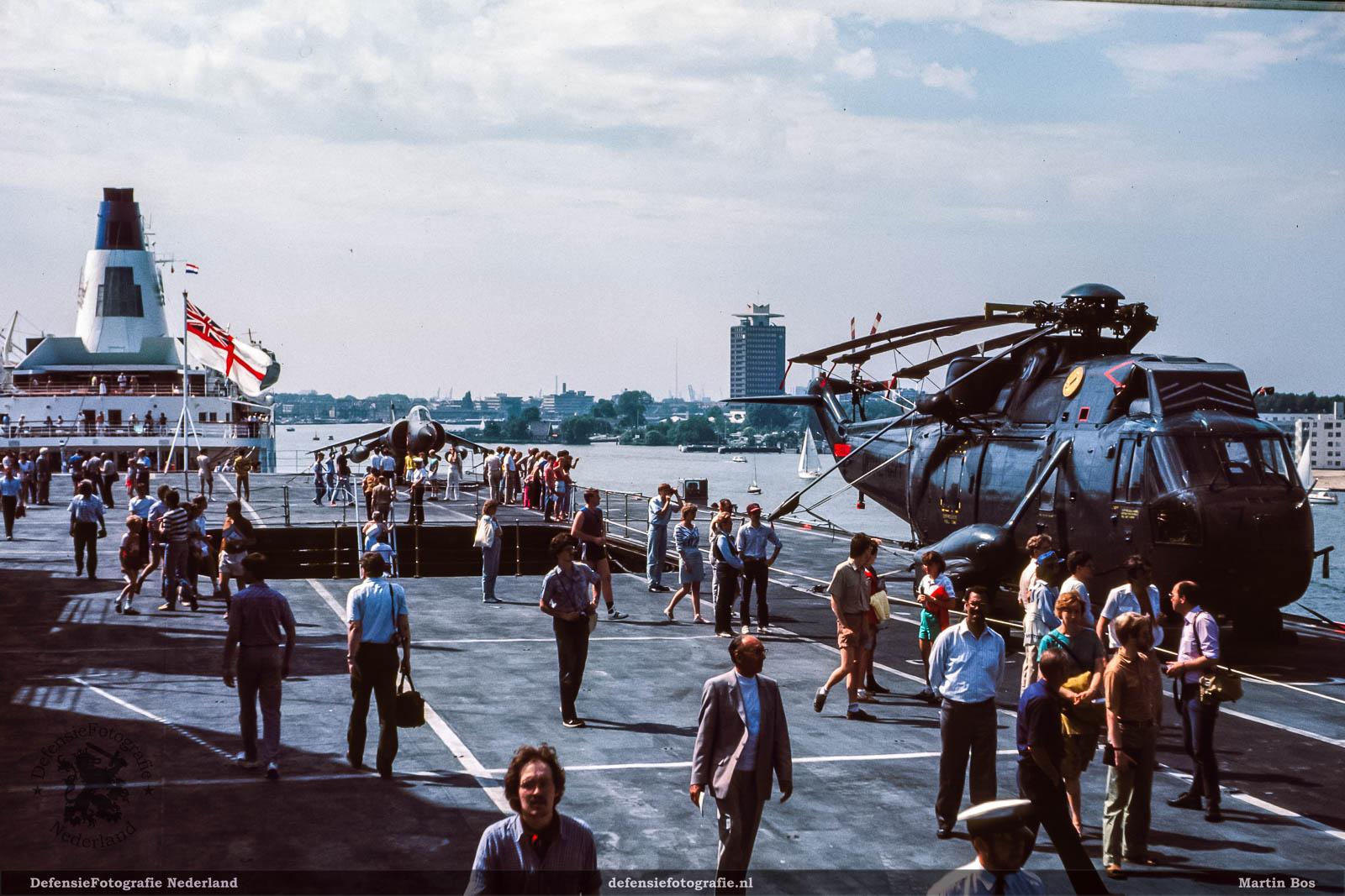 Sea King en Sea Harrier static show