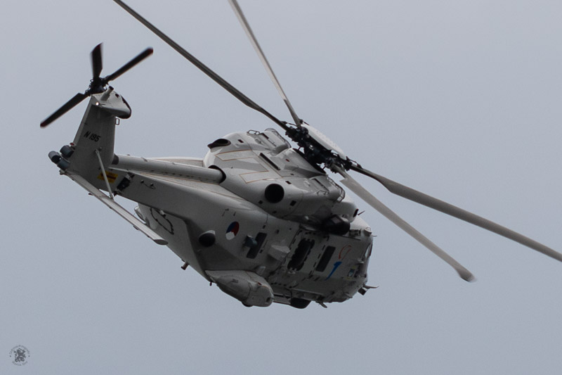 High speed pass NH90 helikopter