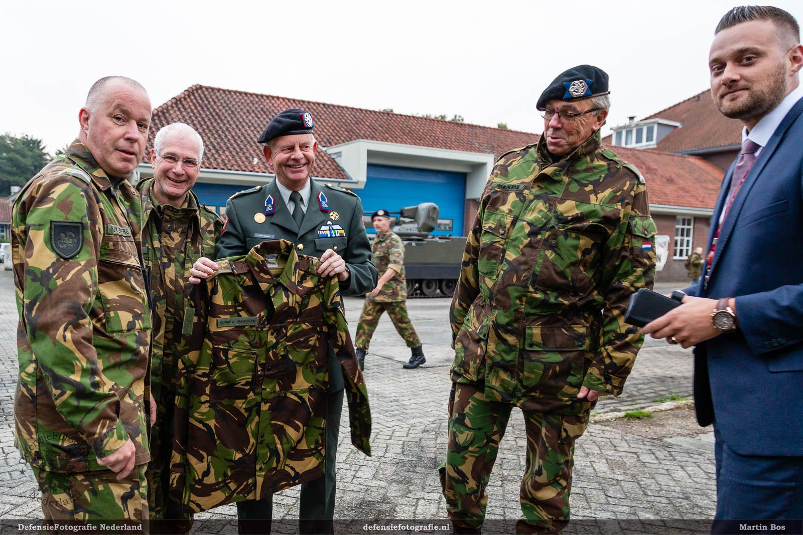 Generaal van Keulen ontvangt herinnering