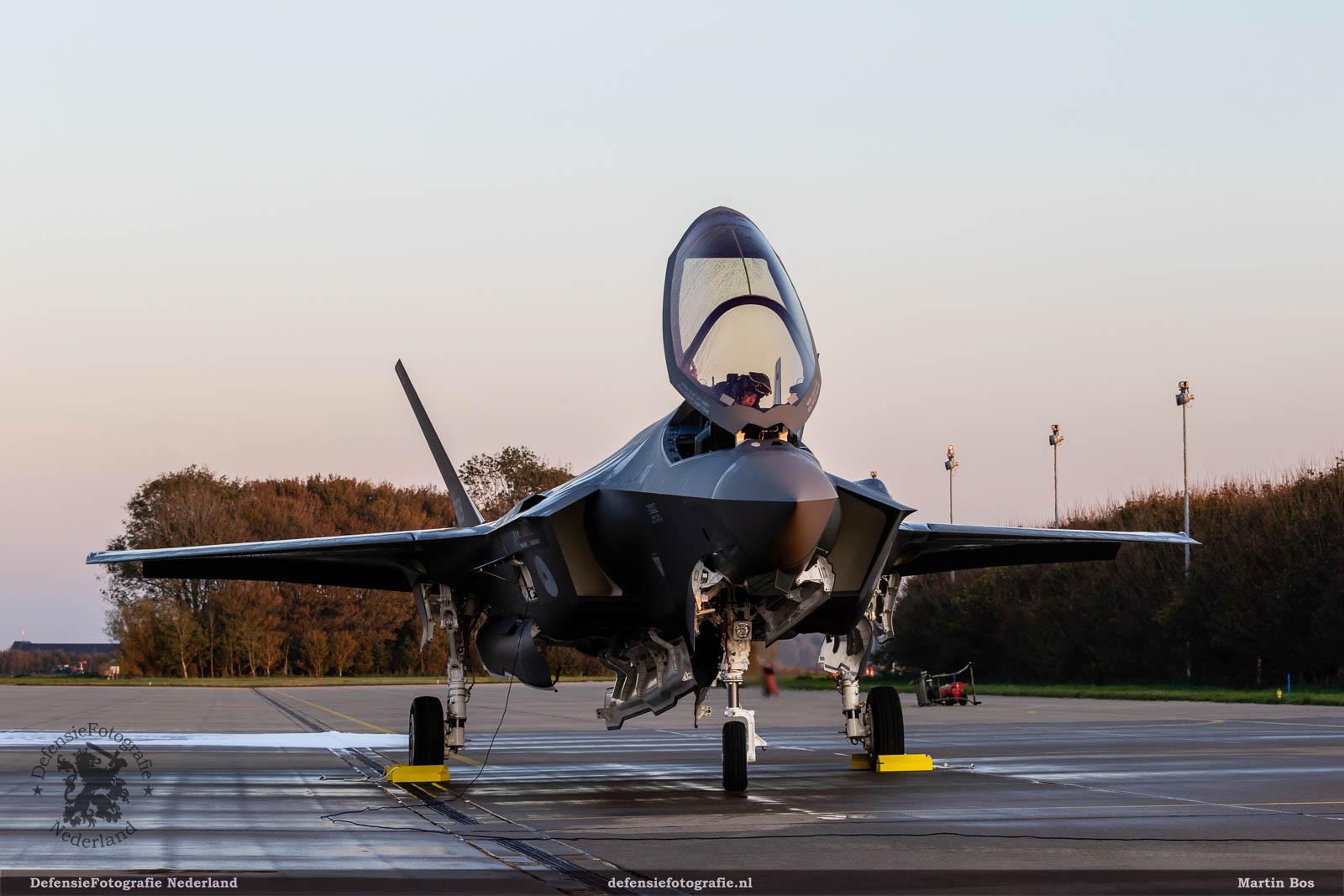 De eerste F-35
