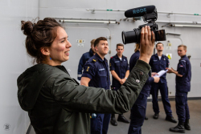 Marinevlogger Annelotte