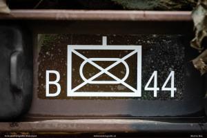 Militair teken B-cie 44 Painfbat