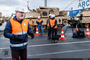 Ontladen Endurance voor Defender Europe 2020