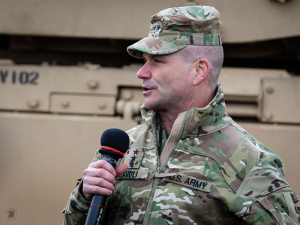 Lt. Gen. Christopher Cavoli, Commanding General of U.S. Army Europe