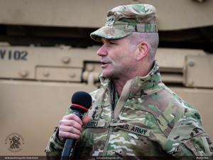 Lt. Gen. Christopher Cavoli, Commanding General of U.S. Army Europe