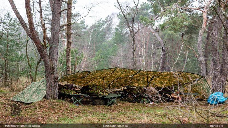Bivak in het bos
