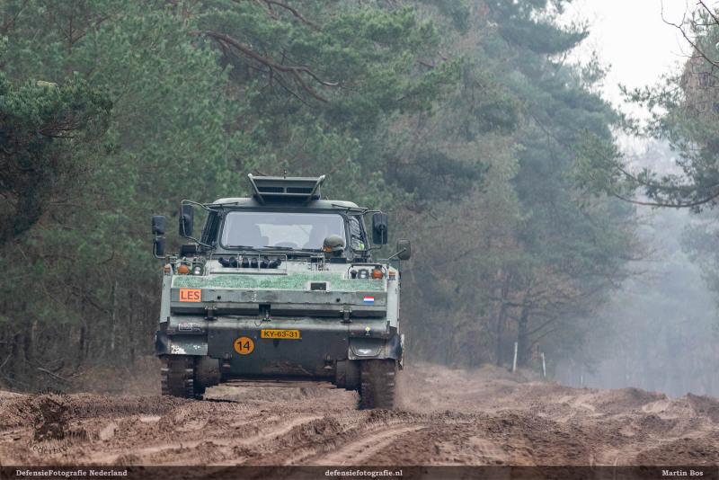 YPR-765 Les op de rondweg