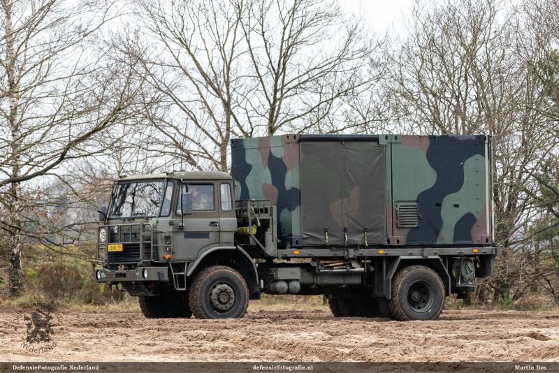 DAF YA-4442 op oefenterrein Oirschot