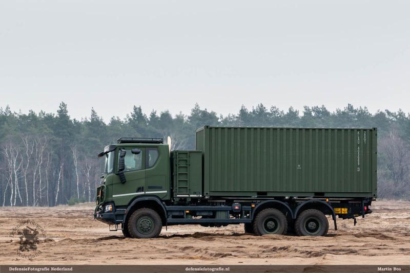 Scania Gryphus 6x6