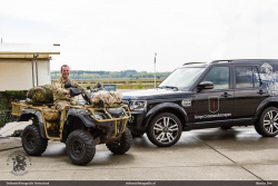 King Quad en Range Rover