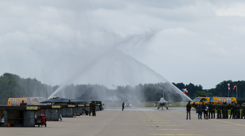 Water-welkom taskforce F-16
