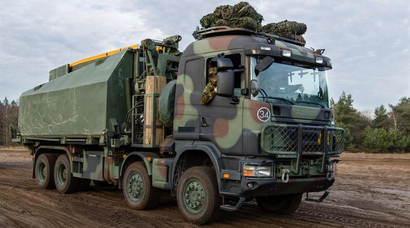 Camouflage-oefening 105 geniecie waterbouw