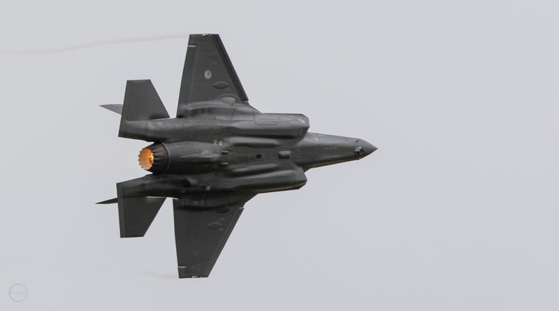 F-35 met afterburner