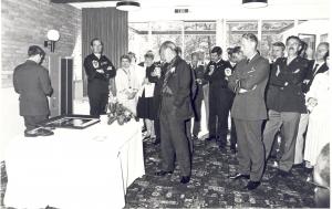 Prins Berhard bezoekt Thunderbirds