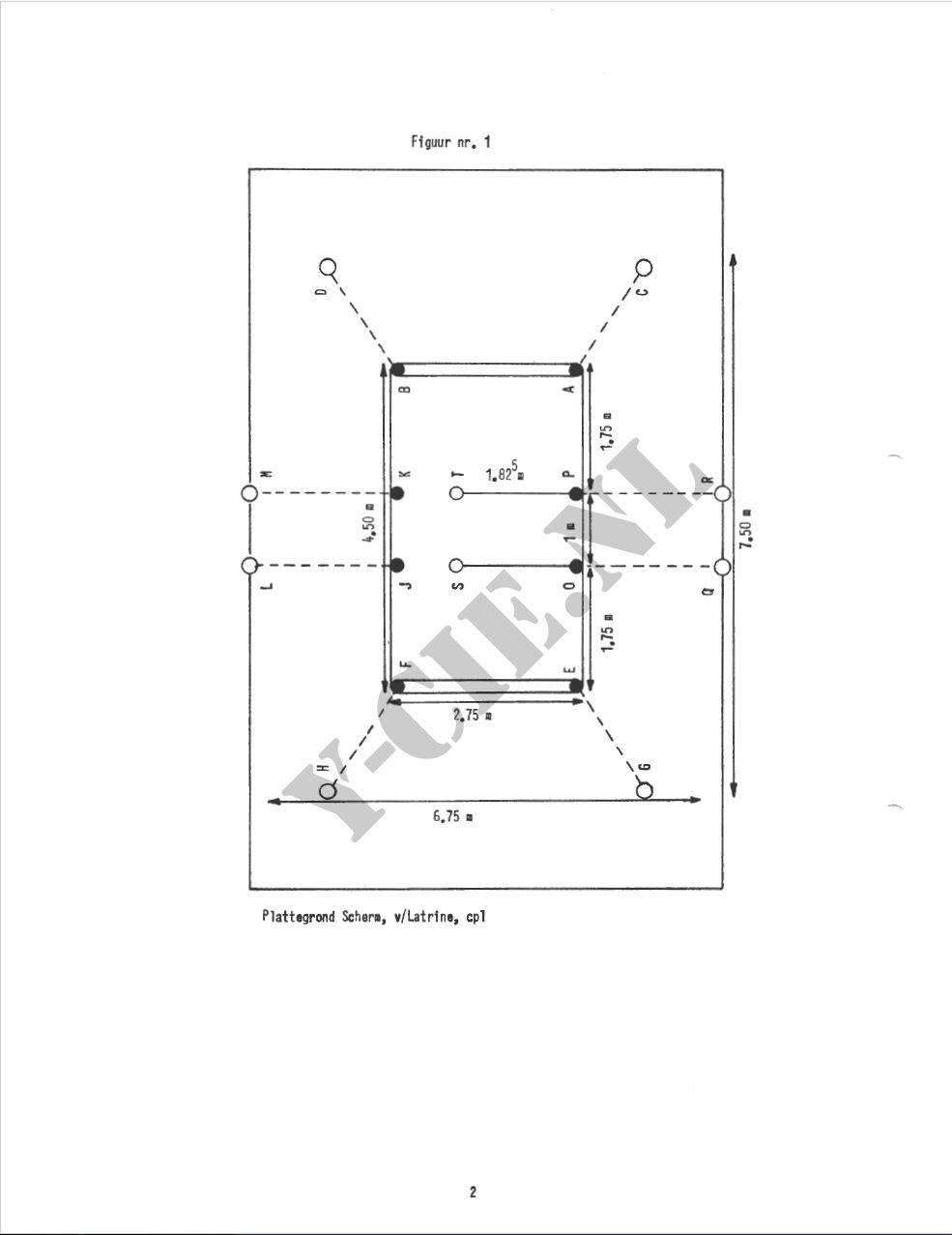 Beschrijving latrine (blz 2)