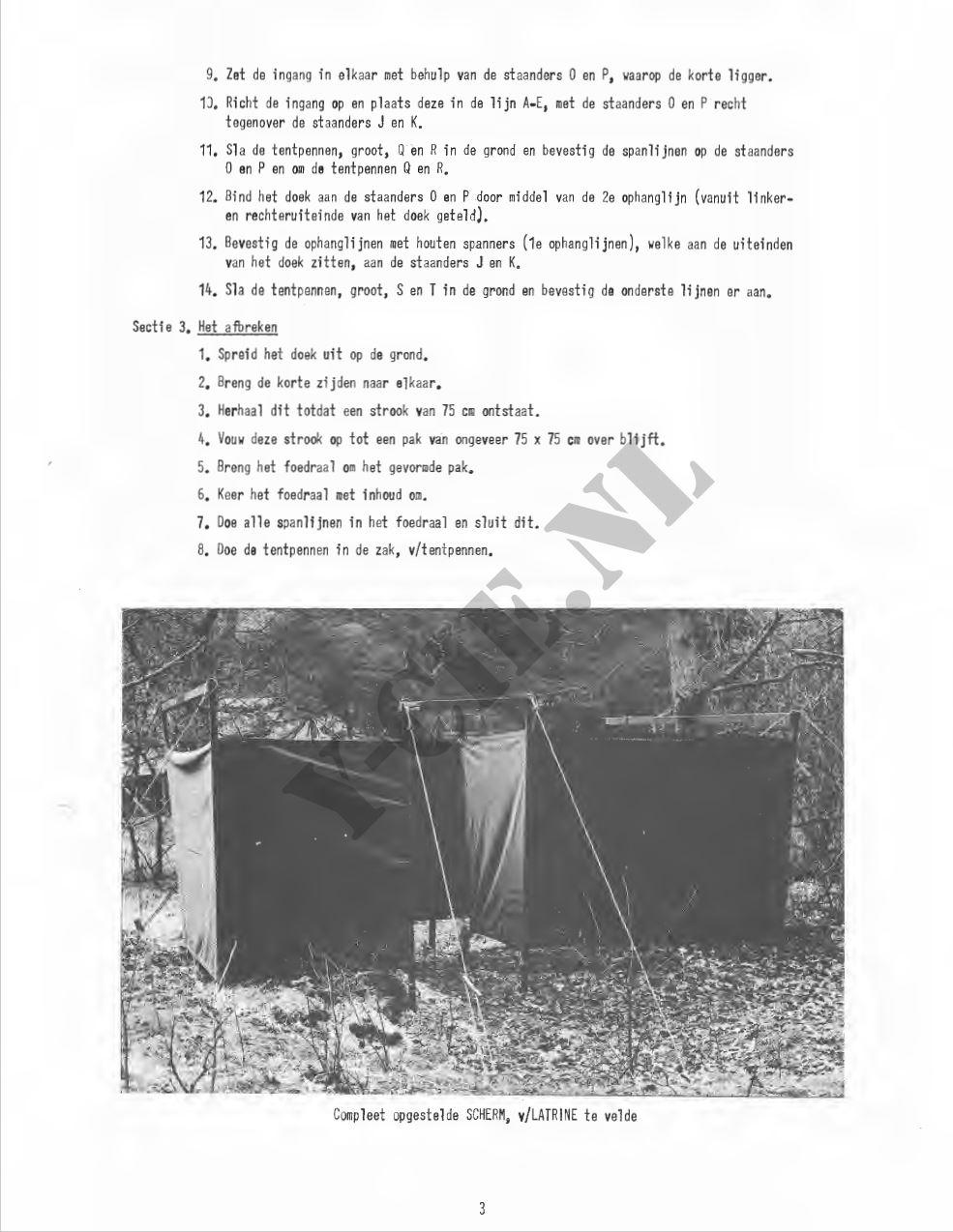 Beschrijving latrine (blz 3)