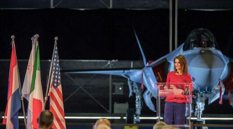 Barbara Visser voor F-35