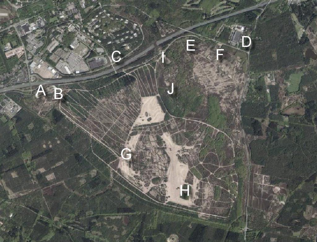 Luchtfoto Leusderheide