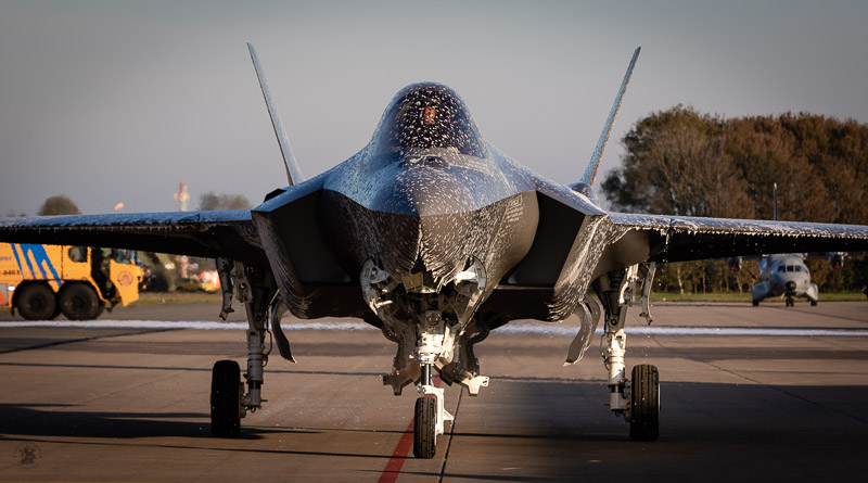 First Aircraft Arrival F-35