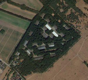 Luchtfoto complex Zwijnsbergen