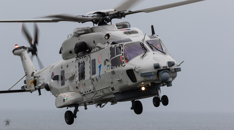 Demonstratie NH90 helikopter