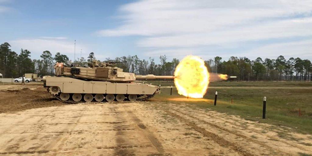 Vuren Abrams tank