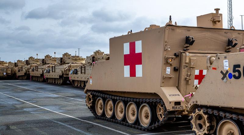 M577 gewondentransport voertuig