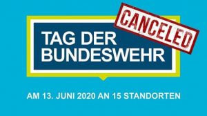 Tag Bundeswehr Cancelled