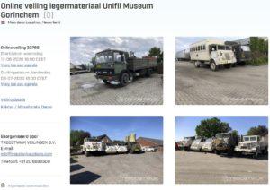 Aankondiging veilig website Troostwijk
