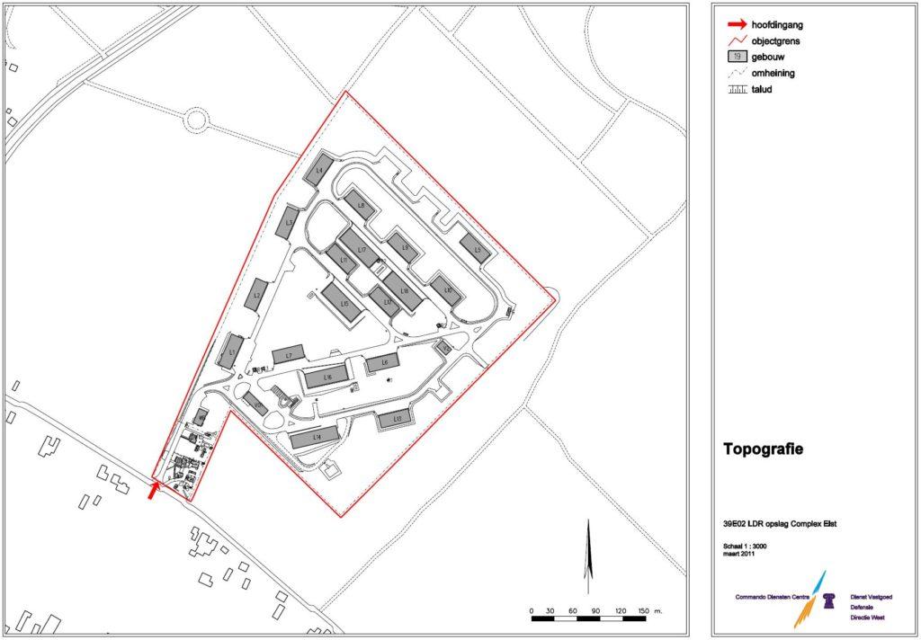 Overzichtskaart Zwijnsbergen (2011)