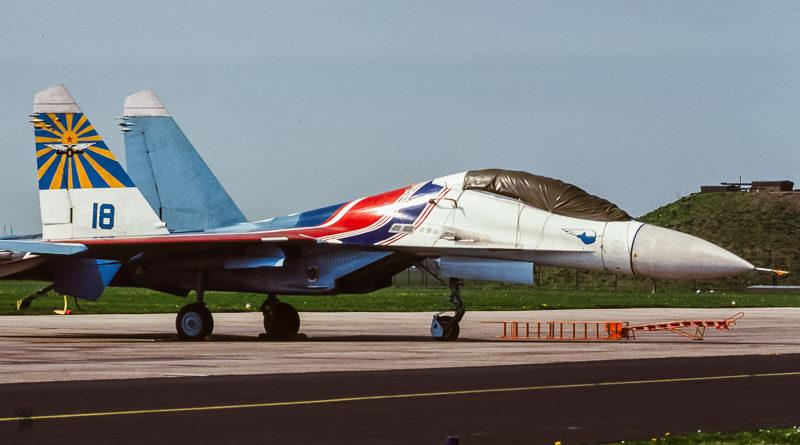 Su-27 Flanker, Russian Knights